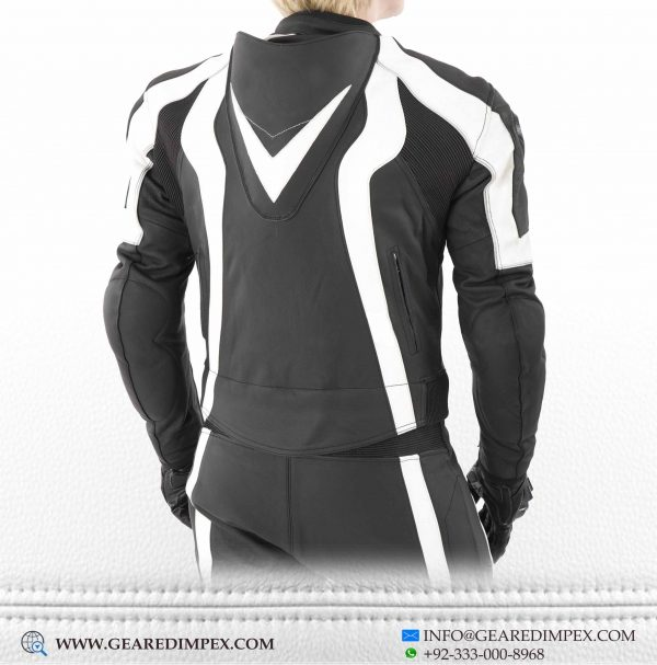 MOTORCYCLE LEATHER 2PC SUIT B
