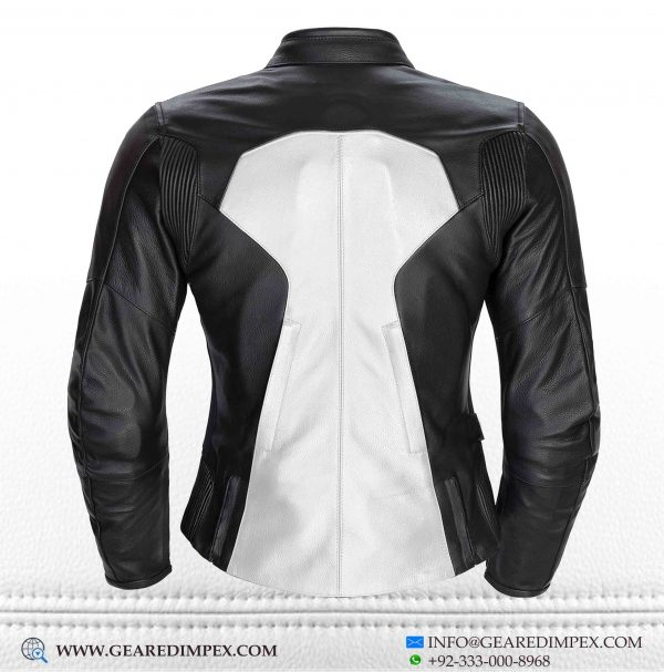 WOMEN LEATHER JACKET ARMOUR WB