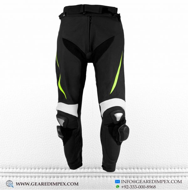 MOTORCYCLE LEATHER TROUSER FF
