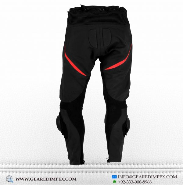 MOTORCYCLE LEATHER TROUSER RB