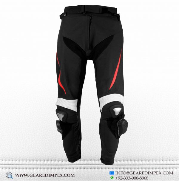 MOTORCYCLE LEATHER TROUSER RF